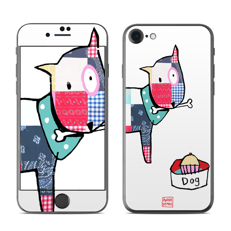 Patch Dog iPhone 7 Skin