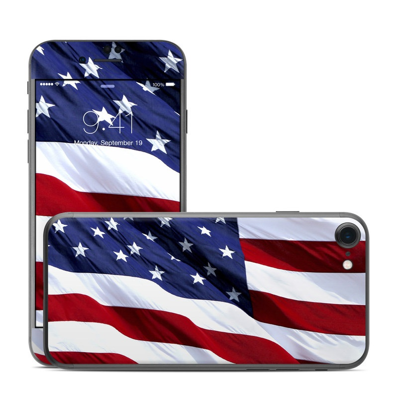 Patriotic iPhone 7 Skin