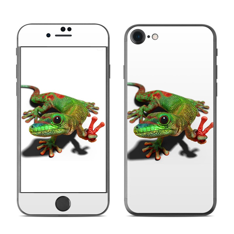 Peace Gecko iPhone 7 Skin