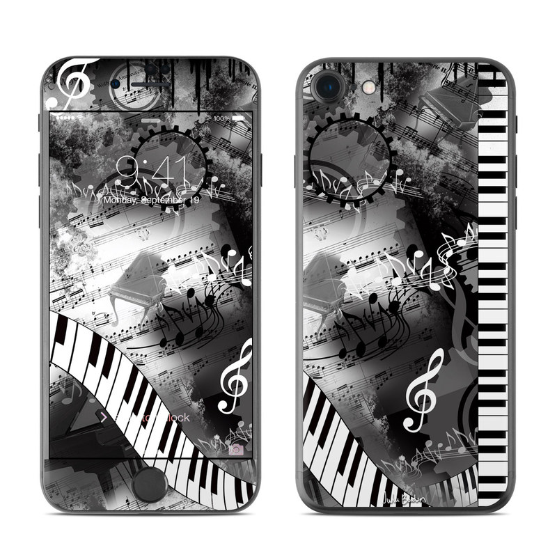 Piano Pizazz iPhone 7 Skin