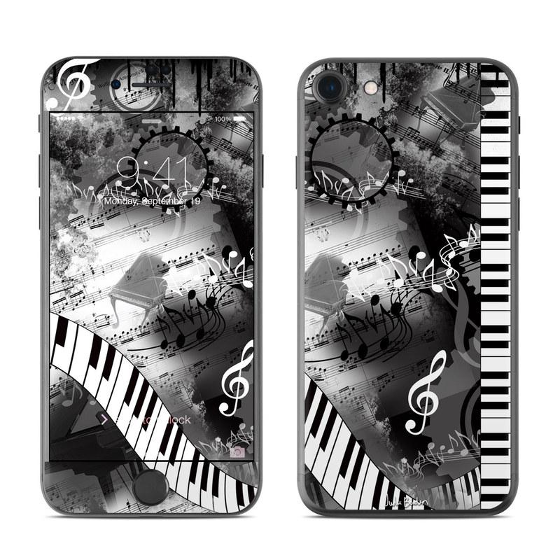 Piano Pizazz iPhone 7 Skin