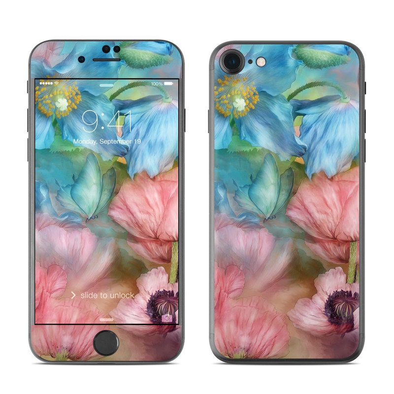 Poppy Garden iPhone 7 Skin