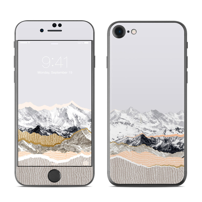 Pastel Mountains iPhone 7 Skin