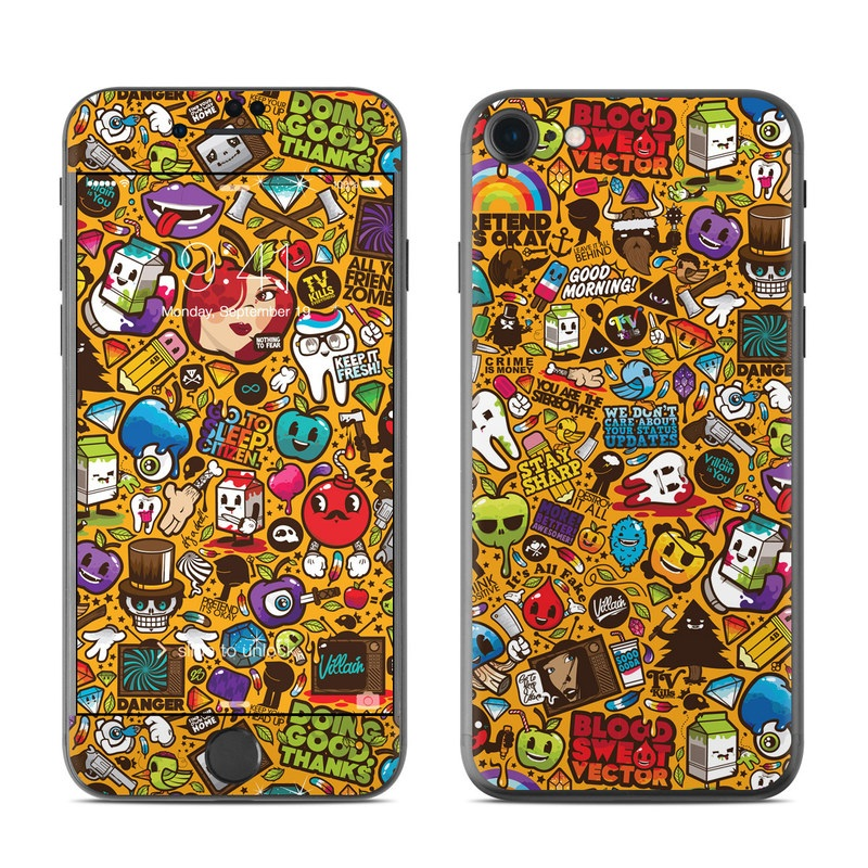 Psychedelic iPhone 7 Skin