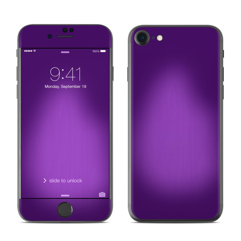 Purple Burst iPhone 7 Skin