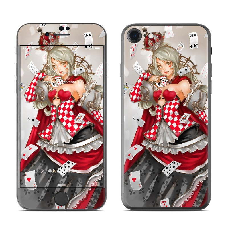 Queen Of Cards iPhone 7 Skin