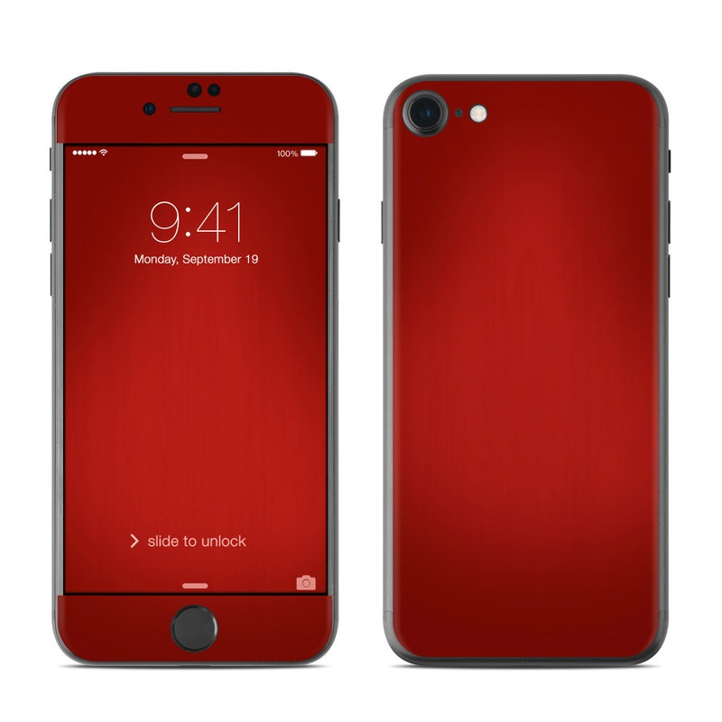 Red Burst iPhone 7 Skin