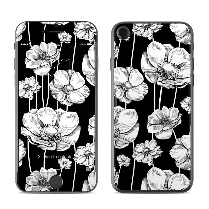 Striped Blooms iPhone 7 Skin