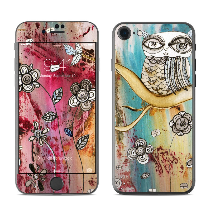 Surreal Owl iPhone 7 Skin