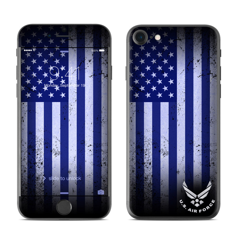 USAF Flag iPhone 7 Skin