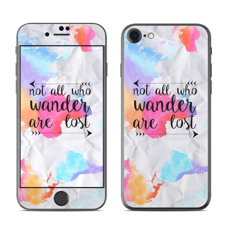 Wander iPhone 7 Skin