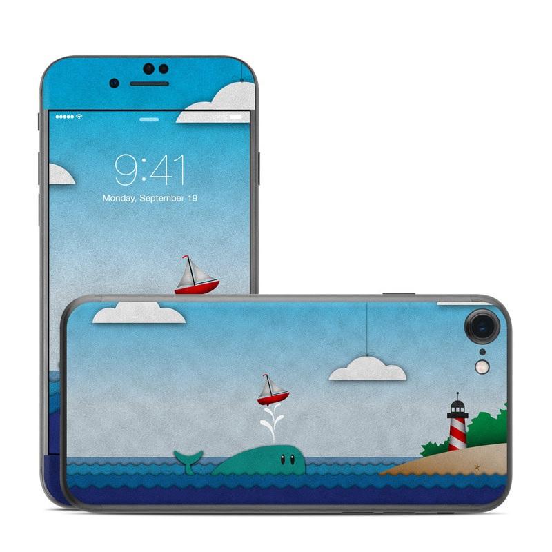Whale Sail iPhone 7 Skin