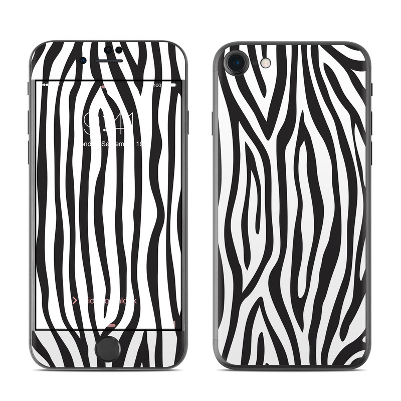 Zebra Stripes iPhone 7 Skin