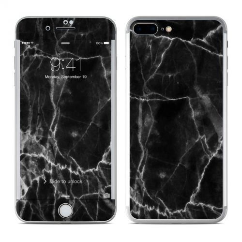 Black Marble iPhone 7 Plus Skin