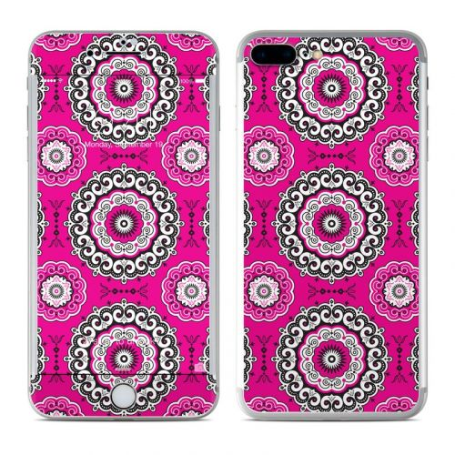 Boho Girl Medallions iPhone 7 Plus Skin