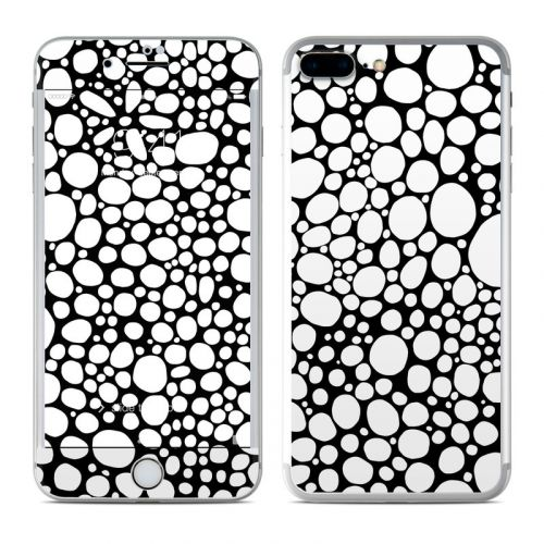 BW Bubbles iPhone 7 Plus Skin