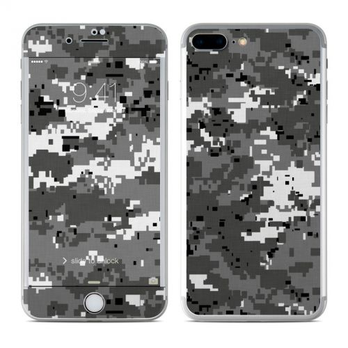 Digital Urban Camo iPhone 7 Plus Skin