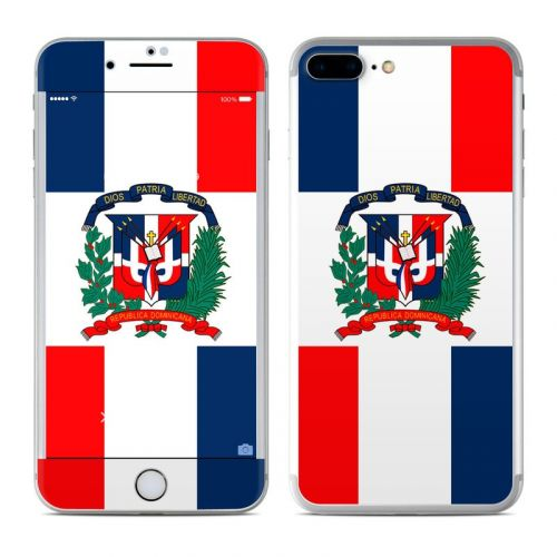 Dominican Republic Flag iPhone 7 Plus Skin