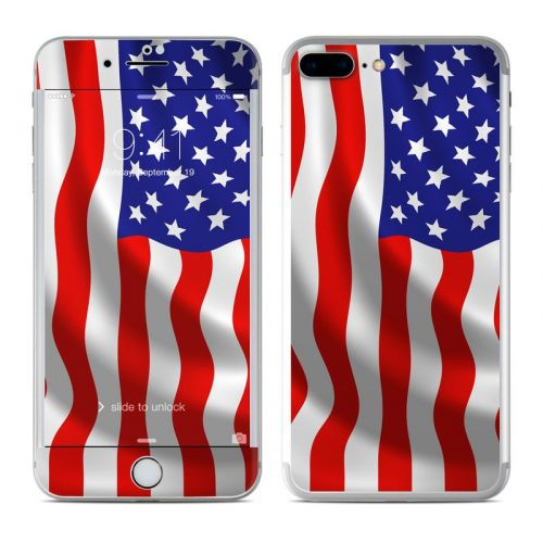 USA Flag iPhone 7 Plus Skin