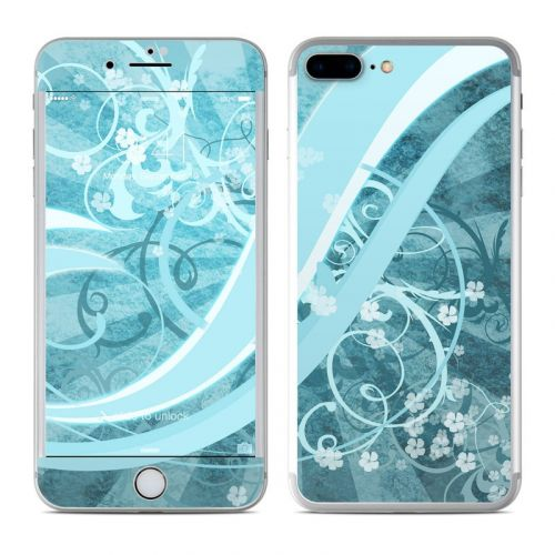 Flores Agua iPhone 7 Plus Skin
