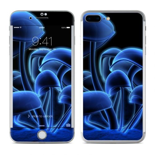 Fluorescence Blue iPhone 7 Plus Skin