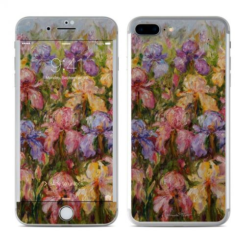 Field Of Irises iPhone 7 Plus Skin