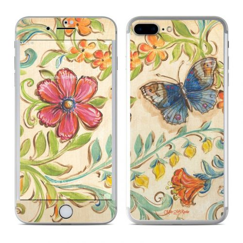 Garden Scroll iPhone 7 Plus Skin