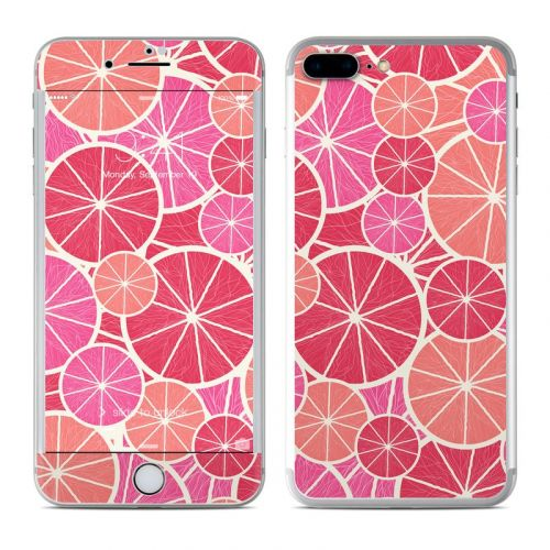 Grapefruit iPhone 7 Plus Skin