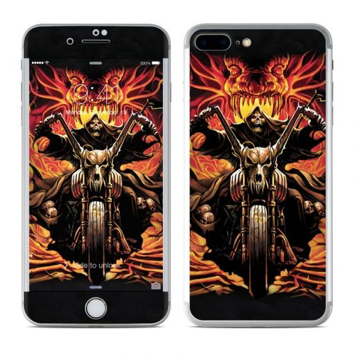 Grim Rider iPhone 7 Plus Skin