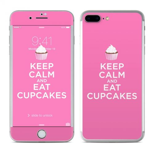 Keep Calm - Cupcakes iPhone 7 Plus Skin