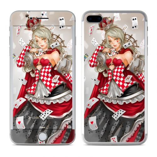Queen Of Cards iPhone 7 Plus Skin