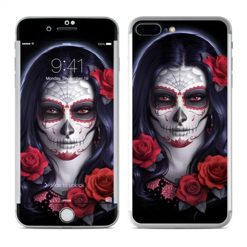 Sugar Skull Rose iPhone 7 Plus Skin