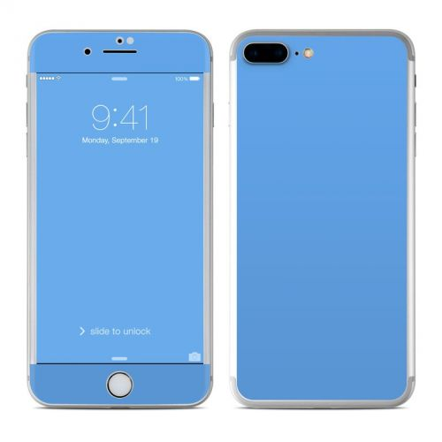 Solid State Blue iPhone 7 Plus Skin