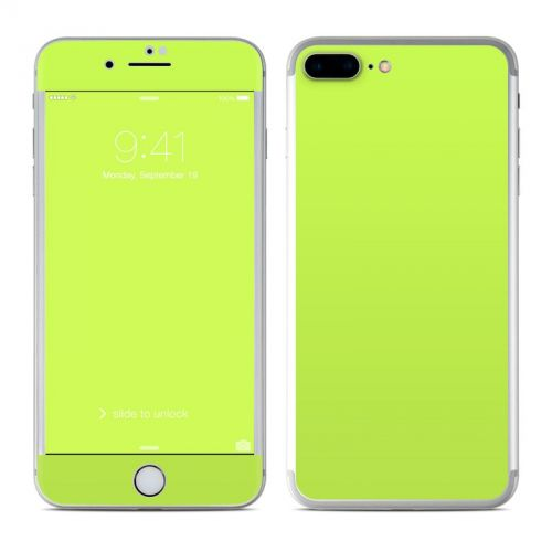 Solid State Lime iPhone 7 Plus Skin