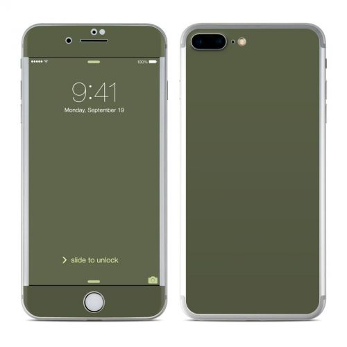 Solid State Olive Drab iPhone 7 Plus Skin
