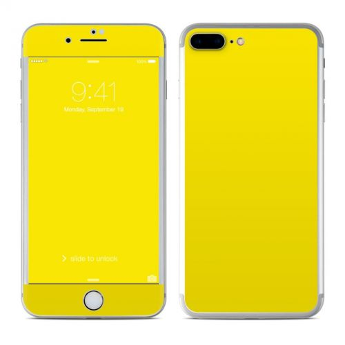 Solid State Yellow iPhone 7 Plus Skin