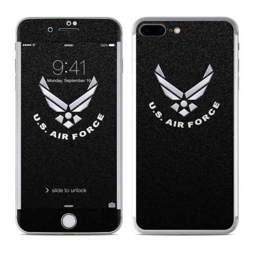 USAF Black iPhone 7 Plus Skin