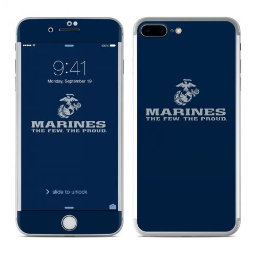 USMC Blue iPhone 7 Plus Skin