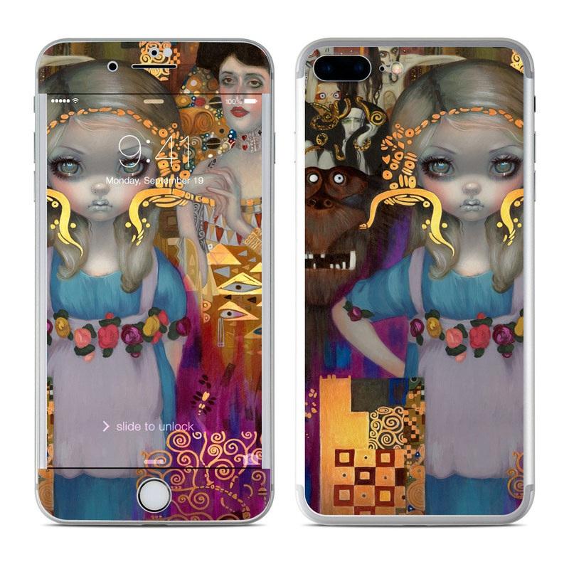 Alice in a Klimt Dream iPhone 7 Plus Skin