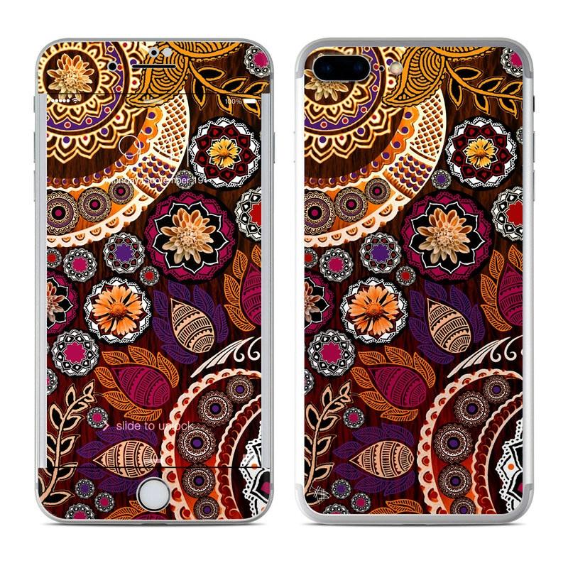 Autumn Mehndi iPhone 7 Plus Skin