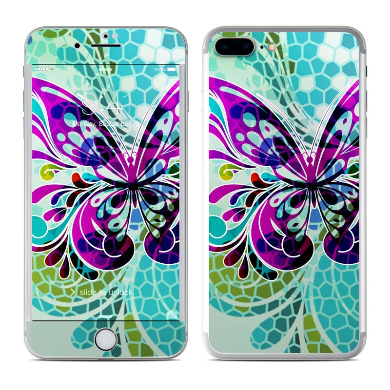Butterfly Glass iPhone 7 Plus Skin