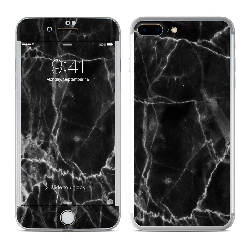 iPhone 7 Plus Skin design of Black, White, Nature, Black-and-white, Monochrome photography, Branch, Atmosphere, Atmospheric phenomenon, Tree, Sky with black, white colors