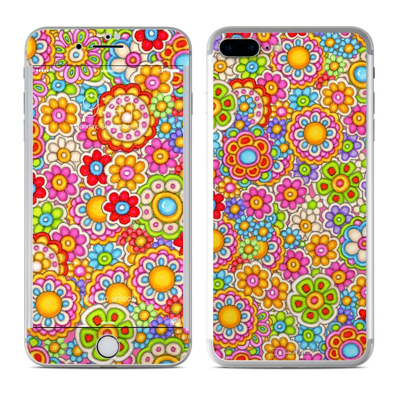 Bright Ditzy iPhone 7 Plus Skin