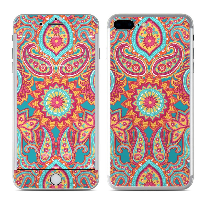 Carnival Paisley iPhone 7 Plus Skin