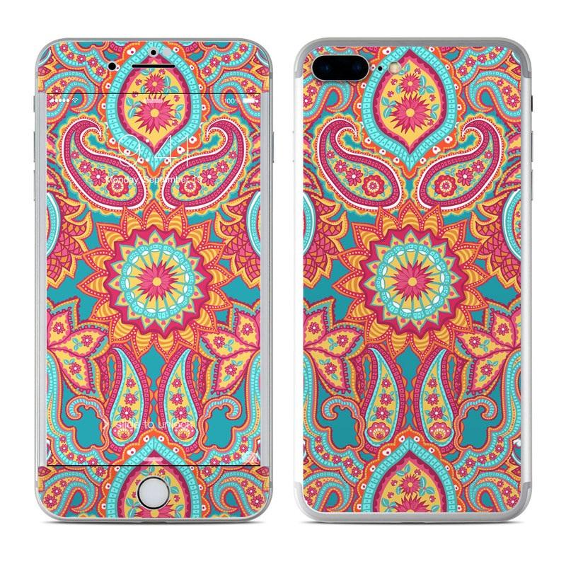 Carnival Paisley iPhone 7 Plus Skin
