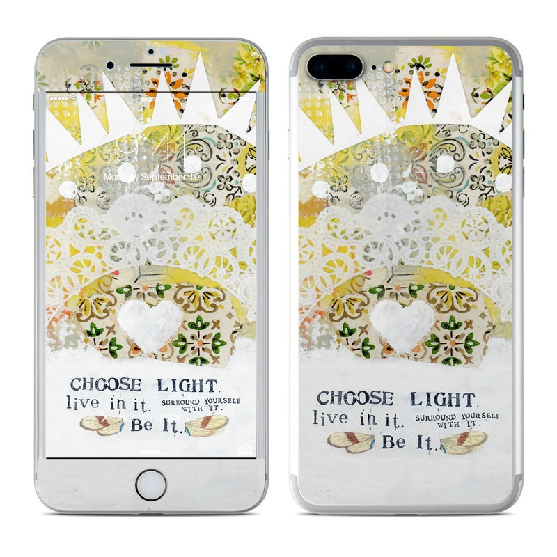 Choose Light iPhone 7 Plus Skin