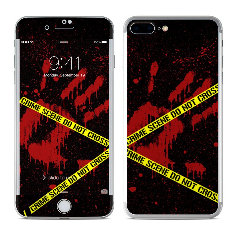 Crime Scene iPhone 7 Plus Skin