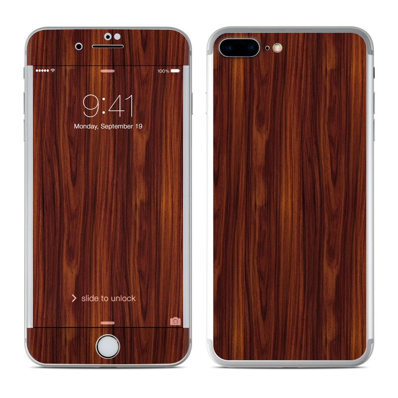 Dark Rosewood iPhone 7 Plus Skin