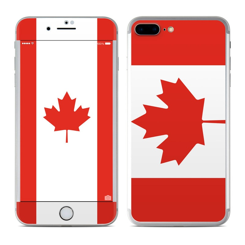 Canadian Flag iPhone 7 Plus Skin