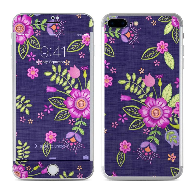 Folk Floral iPhone 7 Plus Skin